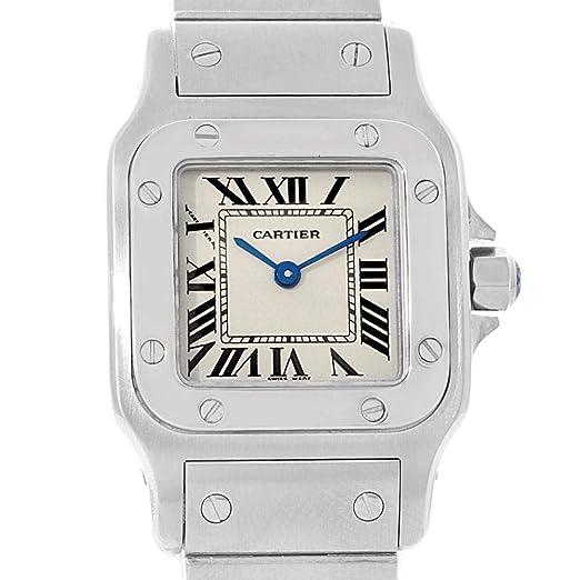 Cartier Santos Galbee W20056D6 - Reloj de Cuarzo para Mujer (Certificado de Propiedad previa)