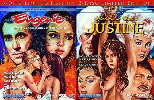 Eugenie & Marquis de Sade's: Justine Jess Franco Double Feature Limited Edition Bundle
