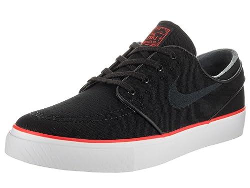 save off 7cde7 48c7a Nike Men s Zoom Stefan Janoski CNVS Black Black Max Orange Skate Shoe 10. 5  Men US  Buy Online at Low Prices in India - Amazon.in