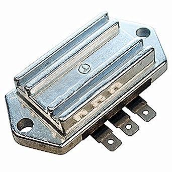 Stens 435-081 Voltage Regulator, Fits Kohler: Ch5, Ch6, Ch11-Ch15,  Cv11-Cv15, M8-M20 and Mv16-Mv20, Use with 055-489 Stator Kit, 3 Terminals  in A Row