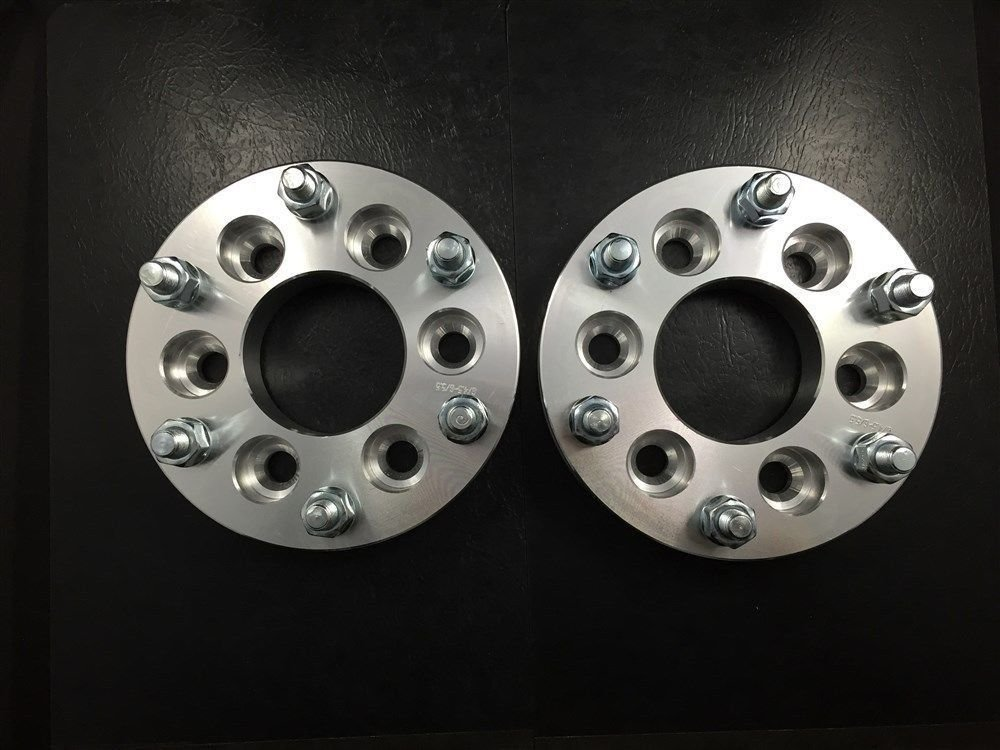 Customadeonly 2X 1 Hubcentric Wheel Spacers ¦ 6x5 6x127 | Fits Chevy Envoy Trailblazer SSR 25mm