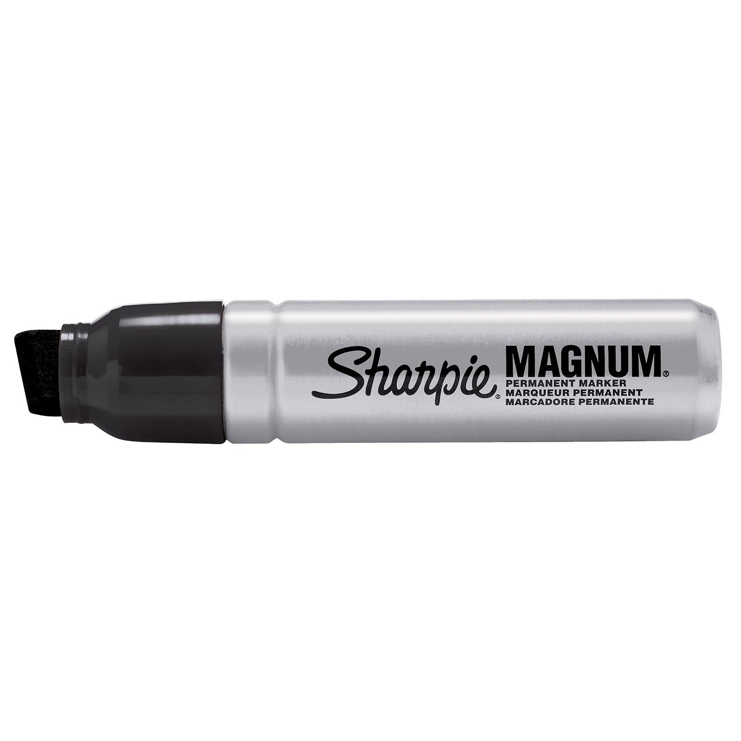 LOT Of 3 NEW Sharpie Magnum Oversized Permanent Markers BLUE XL Chisel Tip