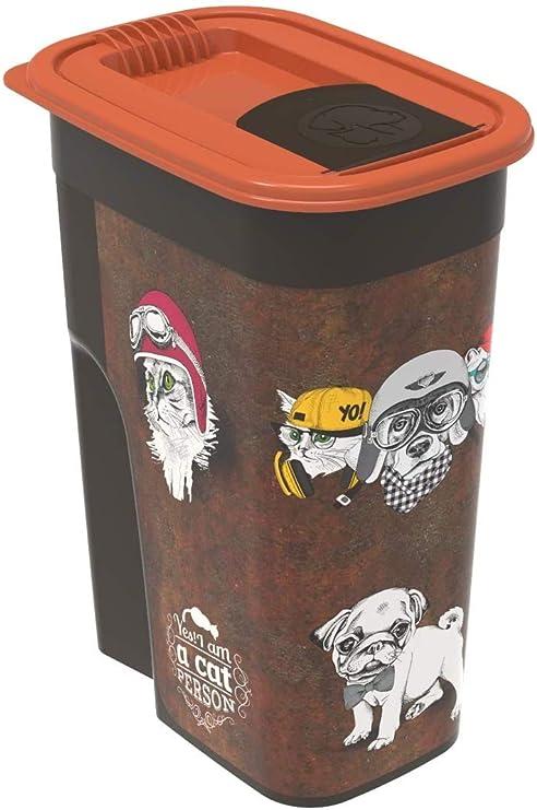 Rotho - Caja de Almacenamiento para Comida de Animales de plástico ...