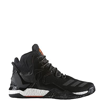 a4d7617d9f02 ... wholesale amazon adidas d rose 7 primeknit shoe mens basketball 9.5  core black orange basketball f6b65