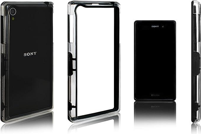 Amazon.com: Xcessor Classic Bumper Case para Sony Xperia Z1 ...