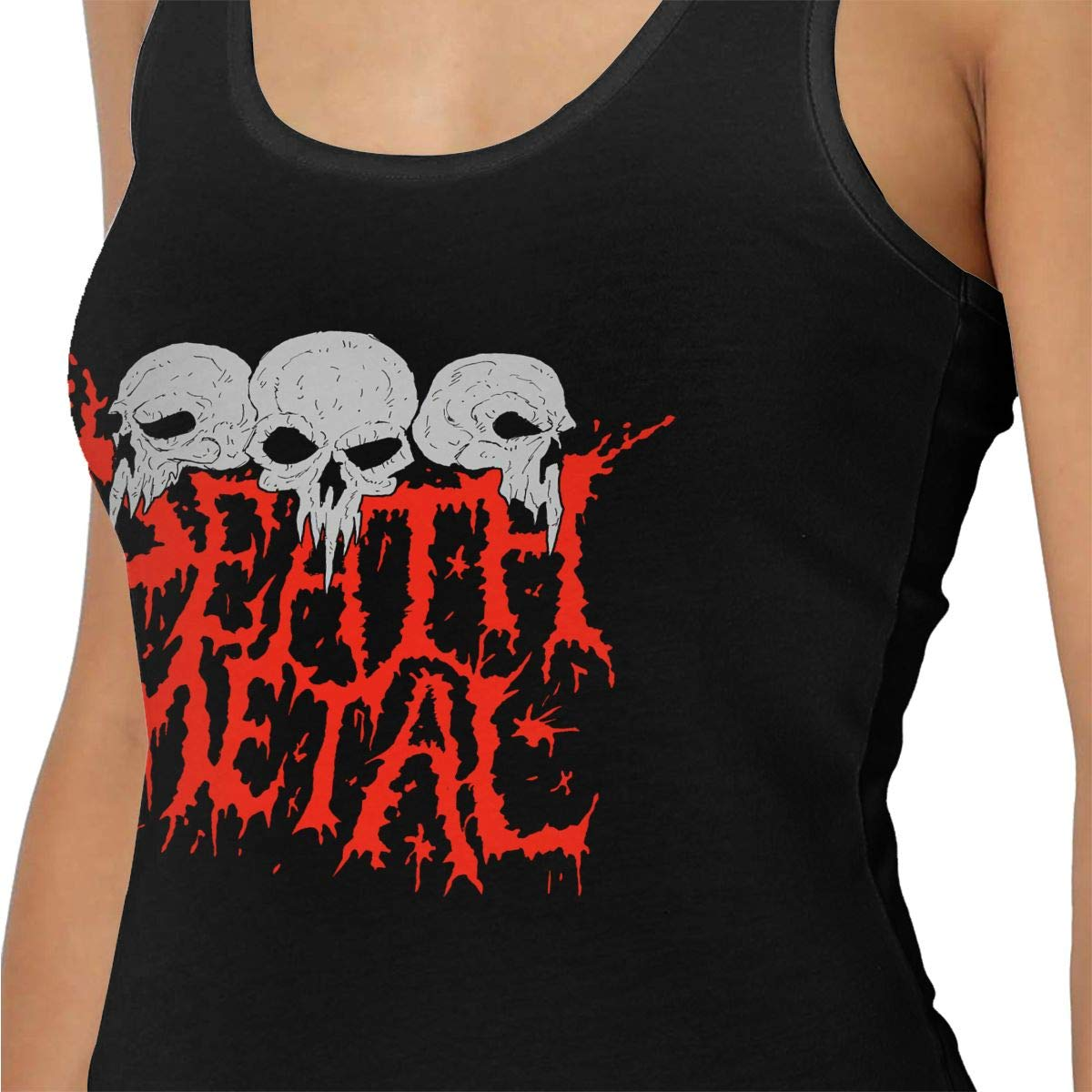 Dwight E Hoskins Cannibal Corpse Women Cotton Running Workouts Clothes Yoga Tank Tops Black