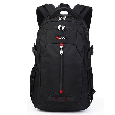 YiYiNoe Laptop Backpack for 17 inch Waterproof Business Travel Rucksack Bag for Men Women Black