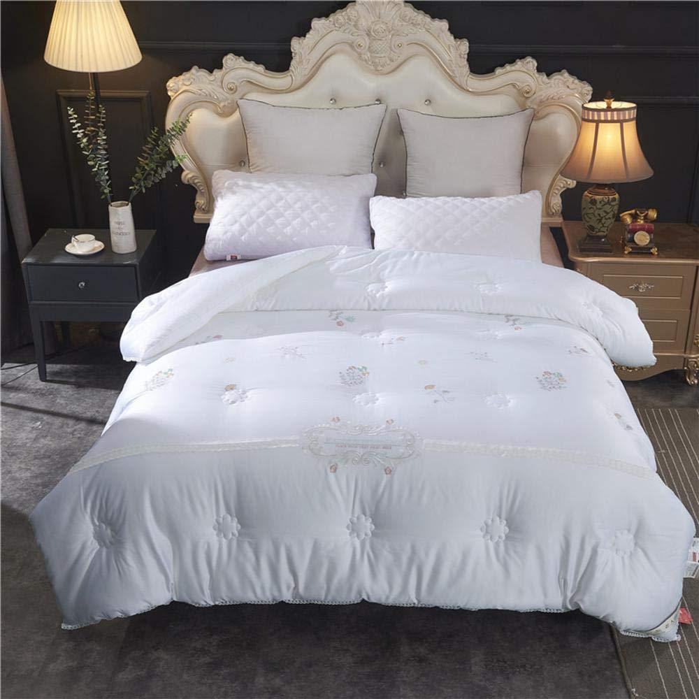 Littlefairy daunendecke,High-End-Winter Stickerei Winter von Faser war komfortable Doppelzimmer Quilt-Kern erhöht