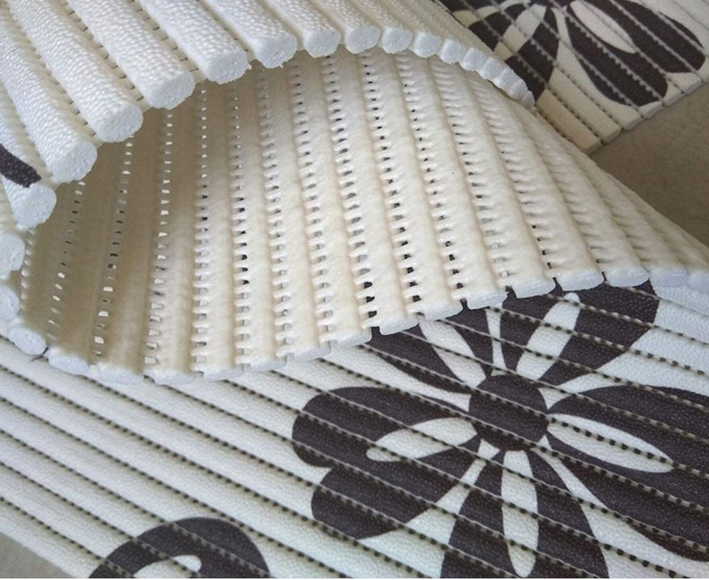 Mbd Powerful PVC Carpet Mat Bathroom Anti-Skid Kitchen Oil Color : A, Size : 0.65x5m Soft and Customizable