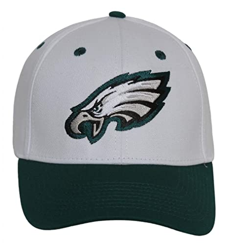 Amazon.com   NFL Philadelphia Eagles Basic Logo Closure Baseball Hat ... 8ccf398c4