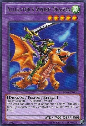 Yu-Gi-Oh! - Alligators Sword Dragon (TU08-EN008) -