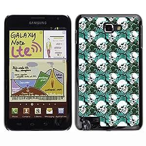 ZECASE Funda Carcasa Tapa Case Cover Para Samsung Galaxy Note I9220 No.0002439