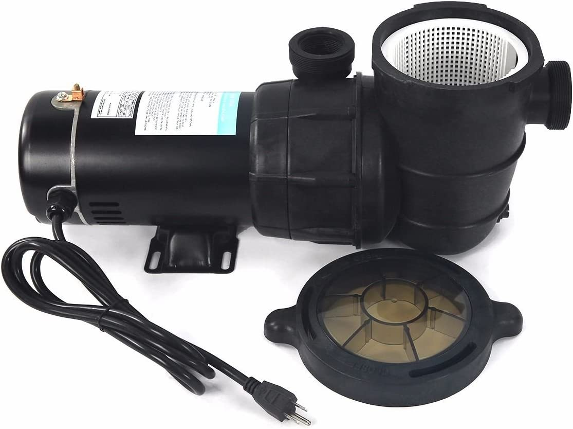 Lotus Analin Swimming Pool Sand Filters Above Ground System with Pump 4500GPH 19 1HP