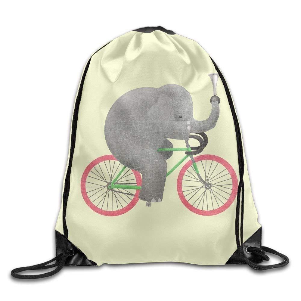 Cartoon Elephant Drawstring Backpack Rucksack Shoulder Bags Training Gym Sack For Man and Women ewtretr Bolsos De Gimnasio