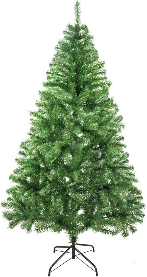 Árbol de Navidad Artificial Arboles C/Soporte Metálico 120-240cm (Verde Brillo, 180cm 477Tips): Amazon.es: Hogar