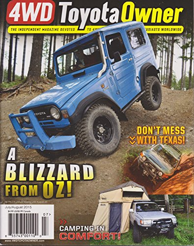 4WD Toyota Owner Magazine July/August 2015