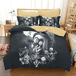 Amazon Com Ktkrr Christmas Duvet Cover Set No Comforter