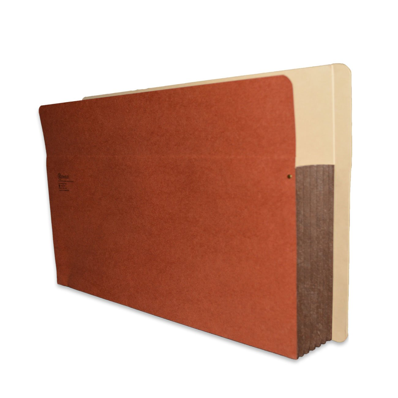 Redweld End Tab File Pocket, Extra Large Legal Size with 5 1/4'' Fully Reinforced Tyvek Gusset, 25 per Carton