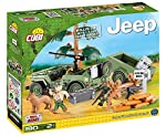 COBI Small Army Jeep Willys with 1/4 Ton Cargo Trailer from Cobi