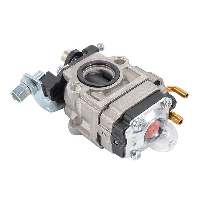 XCSOURCE® Nuevo Paquete de carburador Carb para 43cc 49cc 2 Tiempos de 15 mm Motor de admisión Agujero Gas Scooter Mini-Interruptor de Bolsillo Rocket ...