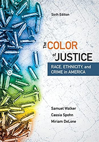 the color of justice race ethnicity and crime in america mindtap rh amazon com