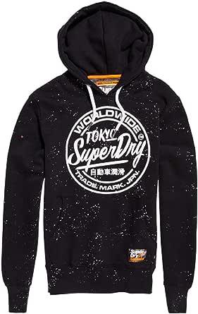 Superdry World Wide Ticket Type Hood Sudadera para Hombre