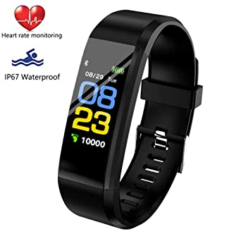 LIGE Fitness Tracker HR, Activity Tracker Watch with Heart Rate Monitor, Waterproof Smart Bracelet
