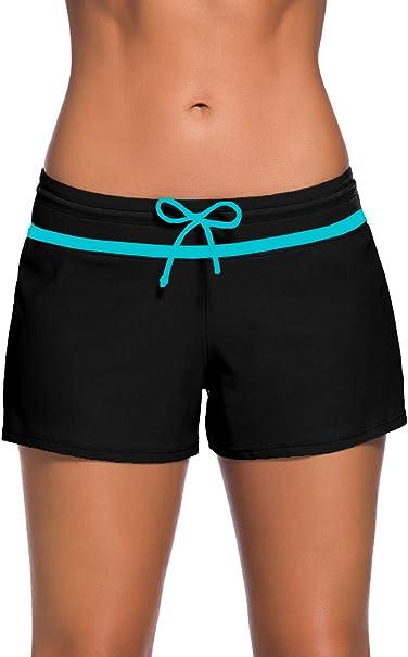 Amazon.com: Aleumdr - Pantalones cortos de natación para ...