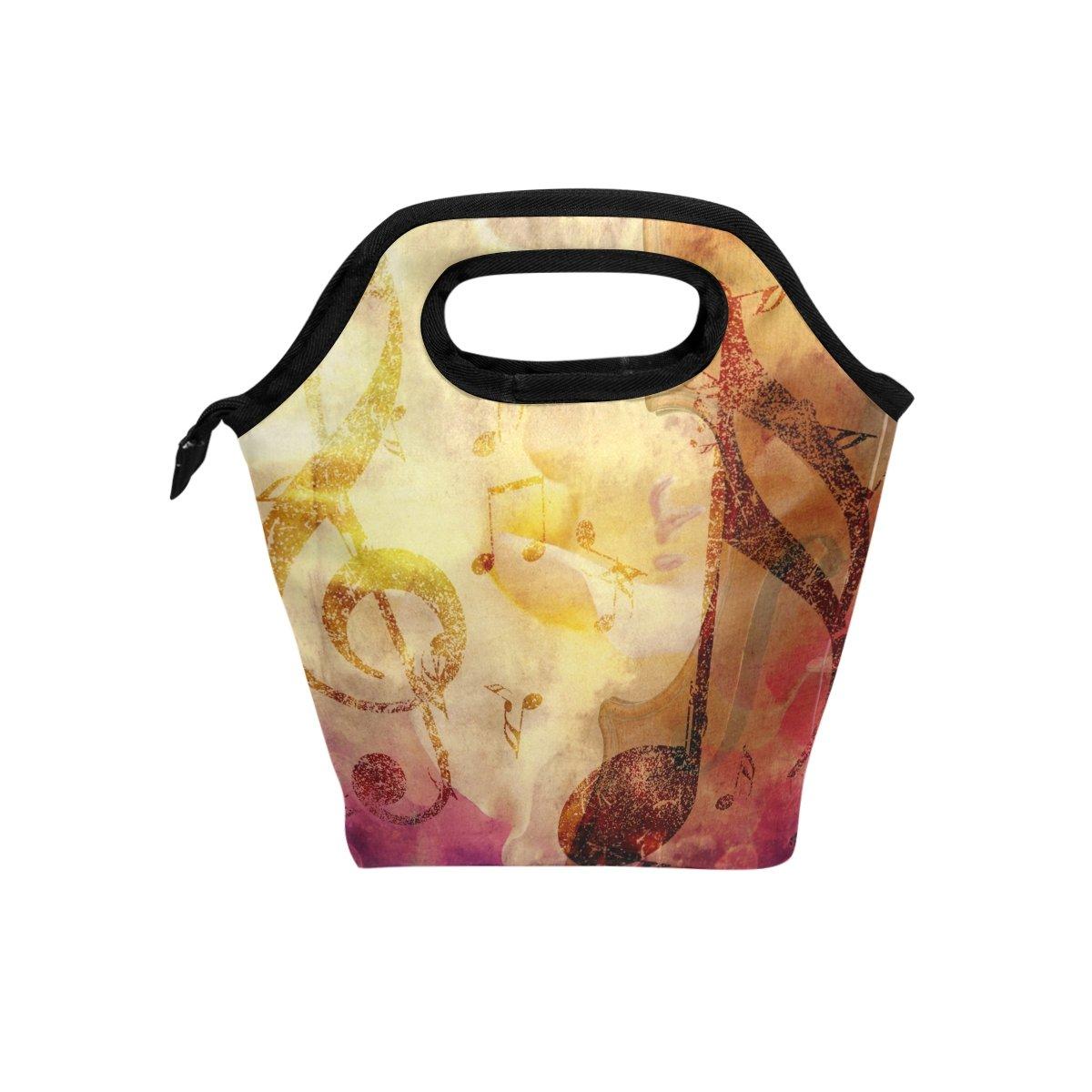 JSTEL - Bolsa de almuerzo para bolso de mano, bolsa de almuerzo, contenedor de alimentos, gourmet, bento, bolsa térmica para viajes, picnic, escuela, oficina bolsa térmica para viajes