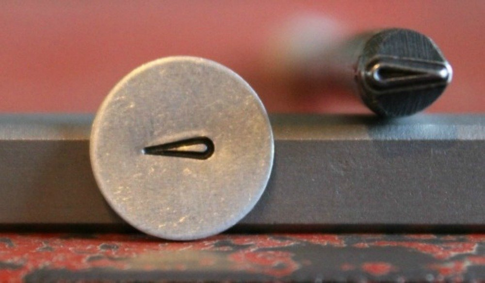 Maze 1 M-27 not a set SUPPLY GUY 5mm Single Metal Punch Design Stamp: Miscellaneous Made in USA