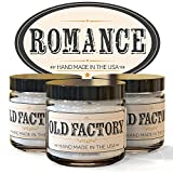 Scented Candles – Romance – Set of 3: Rose Petals, Champagne, and Dark Chocolate – 3 x 4-Ounce Soy Candles – Each Votive Candle is Handmade in the USA with only the Best Fragrance Oils