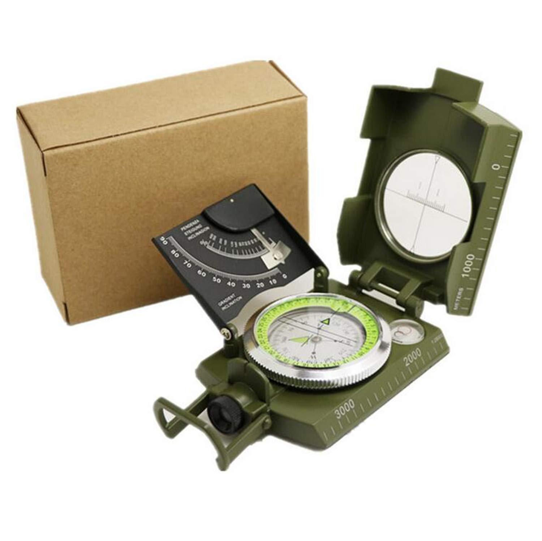 NUO-Z Kompass Navigation Solide Kompass Wasserdicht und Rüttelfest Perfekt für Wandern Camping Klettern Radfahren