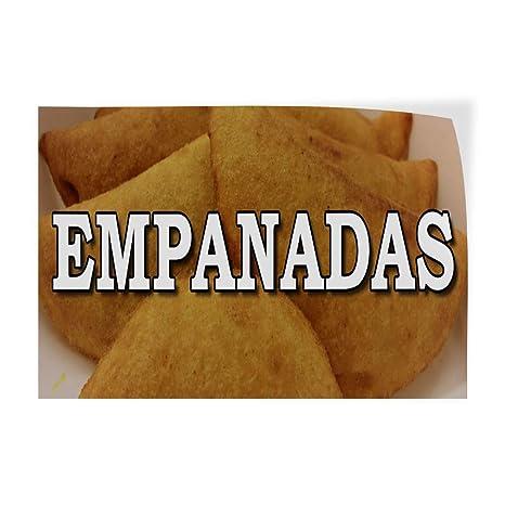 Amazon.com: Decal Sticker Multiple Sizes Empanadas Food Fair ...