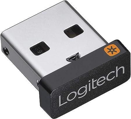 Logitech Receptor USB Unifying, Tecnología Inalámbrica 2,4 GHz, Compatible con Puerto USB y Todos los Dispositivos Unifying como Ratón Inalámbrico y ...