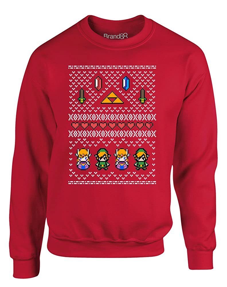 Brand88 Hyrule Christmas, Kids Sweatshirt AC01J_BJ005