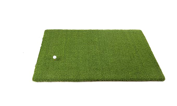 Amazon.com: Ultimate Super Tee de golf Mat – 4 pies x 5 pies ...
