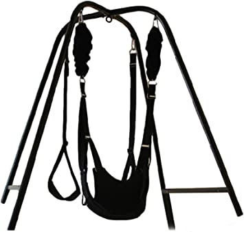 Swing Stand with Wrist Restraints Clamp Belt for Family Use,Swing for Yoga,Plus a Sex Room Chair