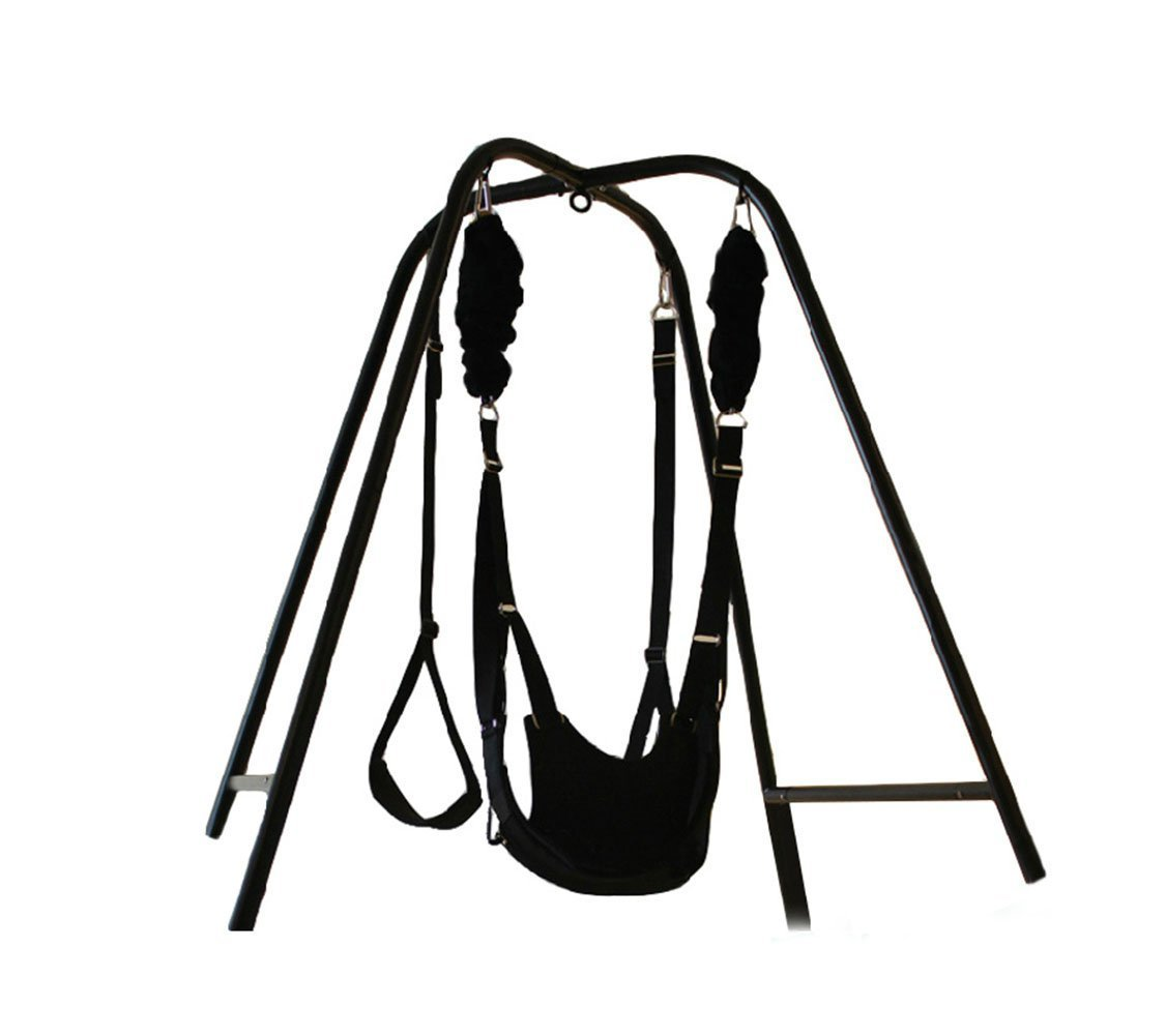 Swing Stand with Wrist Restraints Clamp Belt for Family Use,Swing for Yoga,Plus a Sex Room Chair by Generic