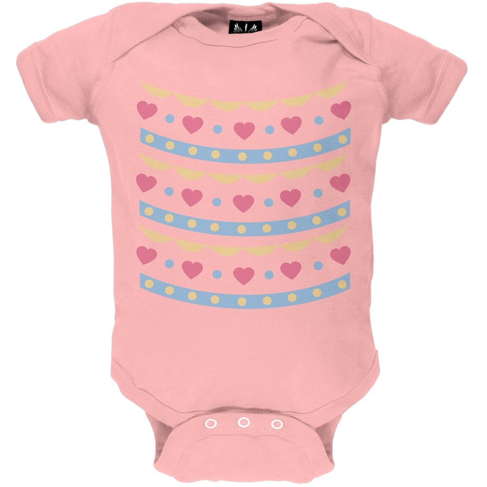 Easter Egg Hearts Costume Baby One Piece - 6 month