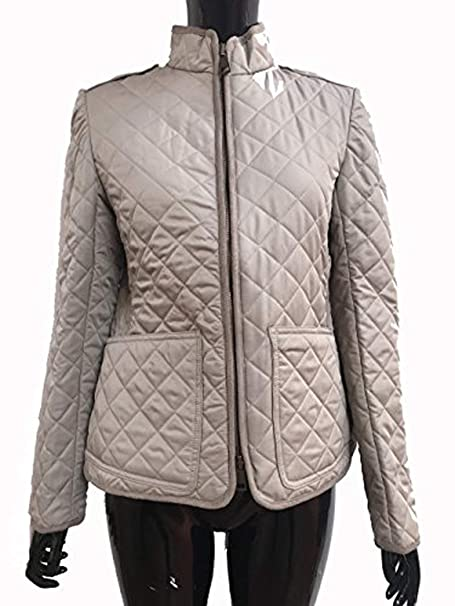 BURBERRY - Chaqueta - Manga Larga - para mujer Marrón natural Large