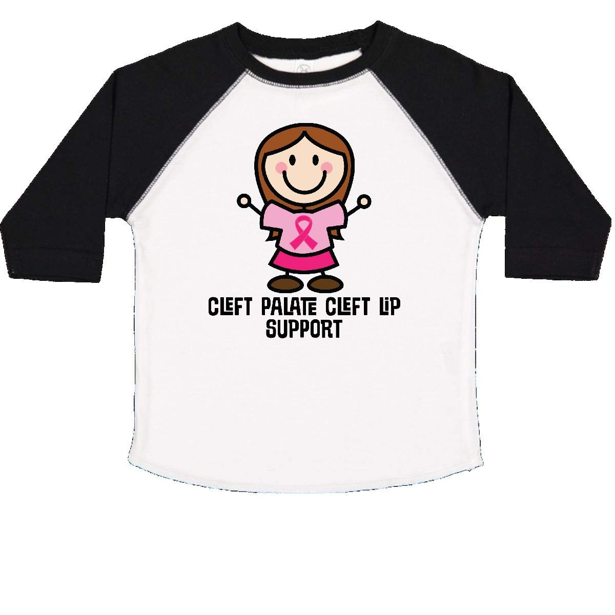 inktastic Cleft Palate Cleft Lip Support Toddler T-Shirt