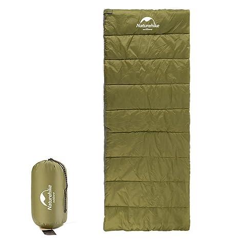 tentock 3 temporada Retangular saco de dormir compacto Almacenamiento potable Camping al aire libre dormir manta