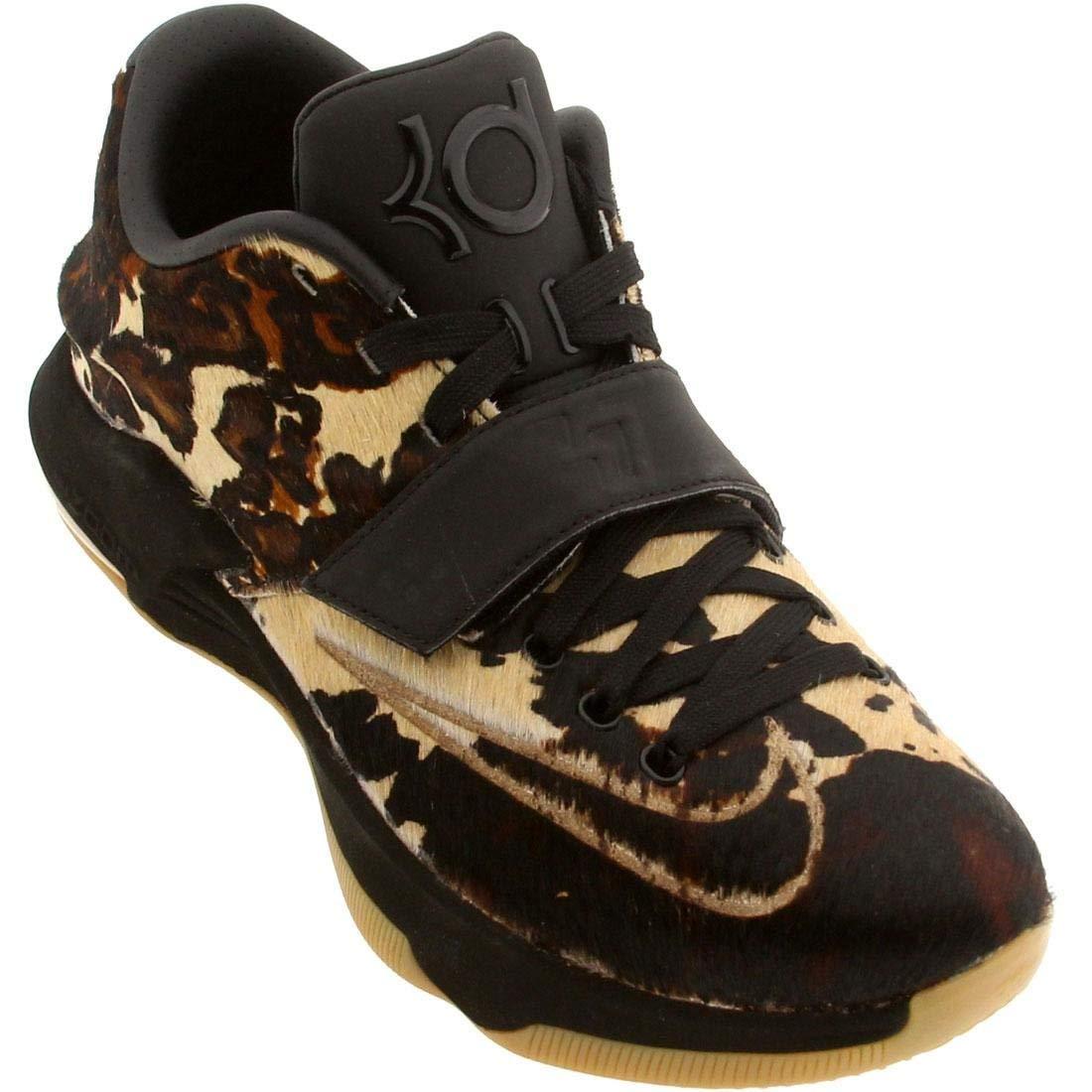 schwarz braun Leopard-like Spots Kd Vii Ext lienzo Qs Calzado Universidad