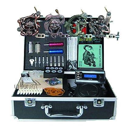 Soul Máquina de tatuajes : Máquina de tatuaje Kit de tatuaje profesional - 4 pcs máquinas