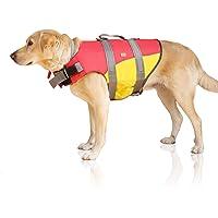 Bella & Balu Badväst för hundar – reflekterande hundflytväst för maximal säkerhet i och på vattnet vid simning, segling…