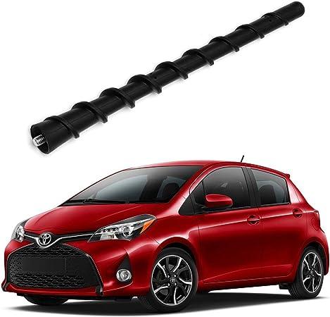 ZHPTAM - Mástil de antena de barra de látigo de 7 pulgadas, reemplazo perfecto para Toyota Yaris 06-18, Toyota Prius, 10-17, sustituye a OEM # ...