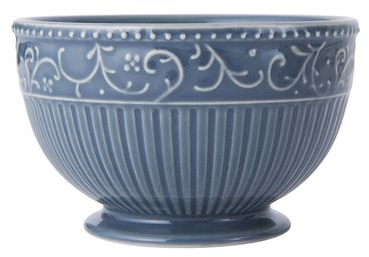 Italian Countryside Accents Scroll Blue Fruit Bowl online at Mikasa.com