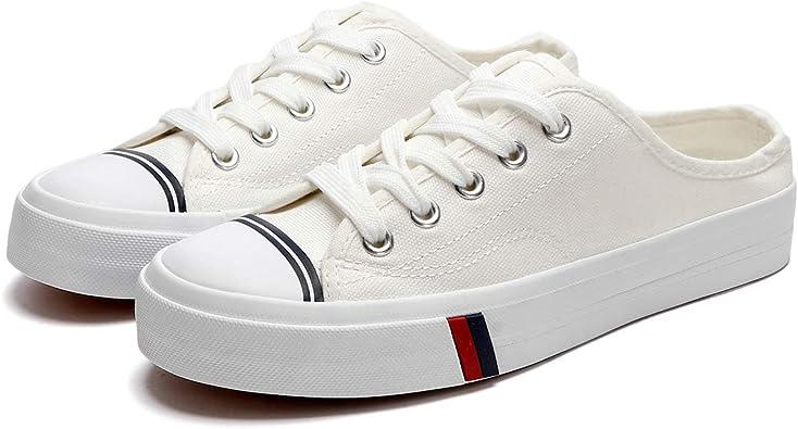ZGR Womens Canvas Sneakers Low