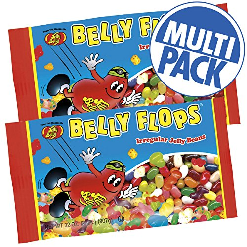 Belly Flops Jelly Beans - 2 lb. Bag - 2 Pack