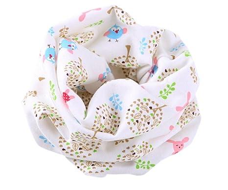 a824bd68e05 Samgu Printemps Automne Hiver bébé écharpe 48   24cm enfants enfant coton  foulard garçons fille style 12  Amazon.fr  Vêtements et accessoires